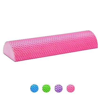 KuaiKeSport Foam Roller Semicirculo,Rodillo de Espuma para Terapia de Masaje Roller Foam para Muscular Yoga para Músculos Tensos Dolorosos Rodillo ...