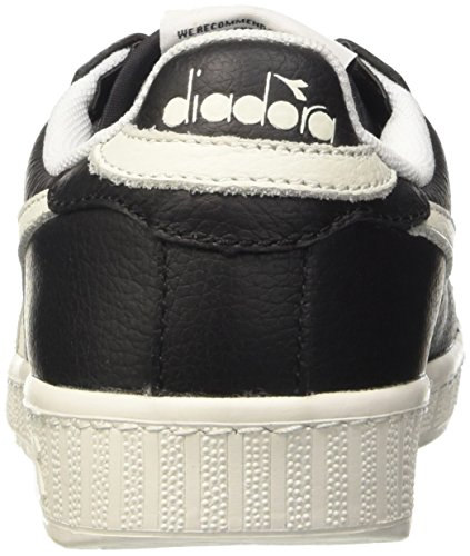 L Nero nero Top Adulto nero Game Scarpe Unisex Low – Diadora Waxed bianco 5BRqCz