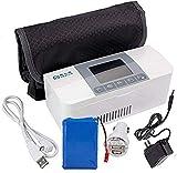 AIJUN Portable Insulin Cooler Refrigerated Box Drug Reefer Refrigerator 2-8°C White