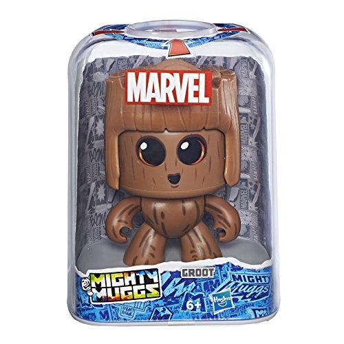 Mighty Muggs- Figura Coleccionable de Marvel, Groot, Color marrón (Hasbro E2166EU4): Amazon.es: Juguetes y juegos