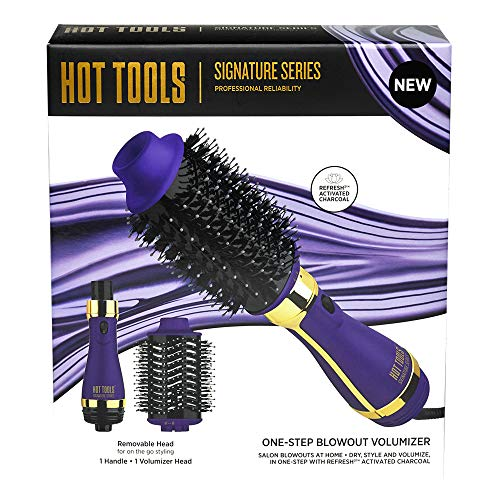 "Hot Tools Pro Signature Detachable One Step Volumizer and Hair Dryer, 2.8"" Regular Barrel"