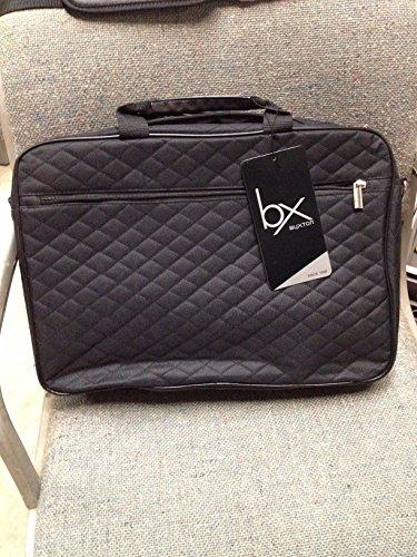 BUXTON LAPTOP TOTE - BLACK - Style #17-L28