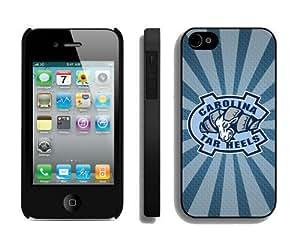 Designer Iphone 4/4s Case Cover Ncaa North Carolina Tar Heels 8 Phone Hard Protector by icecream design