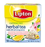 Lipton  Herbal Tea Pyramids, Orange Blossom Hibiscus 18 ct