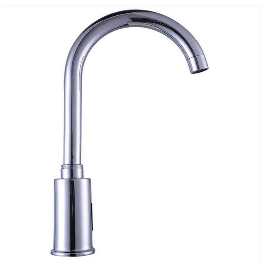 Vintage Messing 360 Grad Rotationautomatic Sensor Tap Infrarot Sensor Wassereinsparung Wasserhahn Induktive Küche Badezimmer