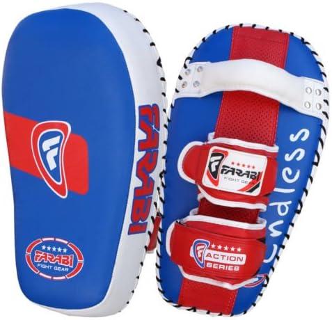 Farabi Thai pad Kick Shield MMA Kickboxing Muay Thai Training pad arm pad Strike Shield(Single Unit)