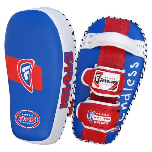 Farabi tailandés Pad Kick Escudo MMA Kickboxing Muay Thai Training Pad Brazo Huelga Escudo (sola unidad) Farabi Sports