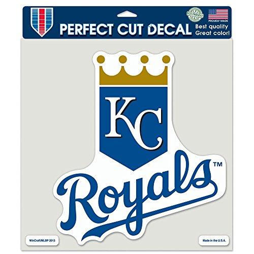 MLB Kansas City Royals Perfect Cut Color Decal, 8