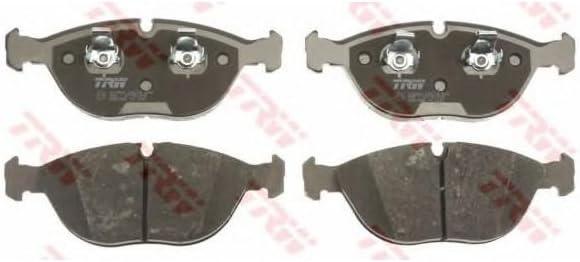 4-teilig TRW GDB1285 Bremsbelagsatz Scheibenbremse