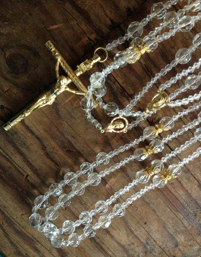 Crystal Wedding Lasso Gold Plated Accents/Lazo De Boda Crystal Cortado En Oro