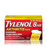 Tylenol 8 HR Arthritis Pain Extended Release Caplets, Pain Reliever, 650 Mg, 225 Ct.