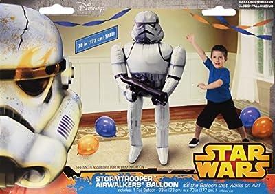 "Star Wars Storm Trooper Airwalker Balloon 70"""