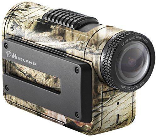 Midland Consumer Radio XTC450VP 1080p HD Action Camera with Wi-Fi in Mossy Oak Break-Up Case by Midland