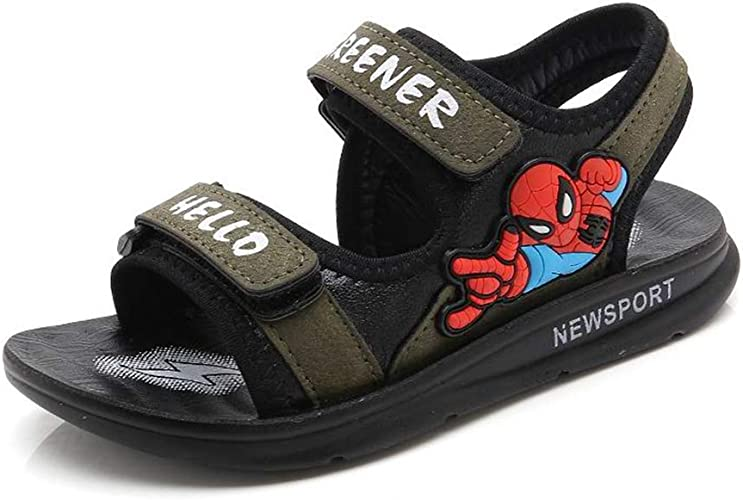 futurepost.co.nz ANKIDS Fashion Toddlers Kids Spiderman Sandals ...