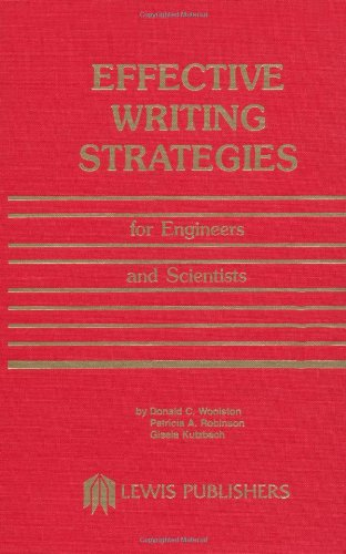 Effective Writing Strategies for Engineers and Scientists by Brand: Lewis Publishers