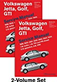 Volkswagen Jetta, Golf, GTI (A4) Service Manual: 1999, 2000, 2001, 2002, 2003, 2004, 2005 - 2 VOLUME SET