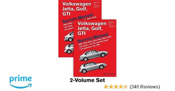 Volkswagen jetta golf gti a4 service manual 1999 2000 2001 volkswagen jetta golf gti a4 service manual 1999 2000 2001 2002 2003 2004 2005 2 volume set bentley publishers 9780837616780 amazon sciox Gallery