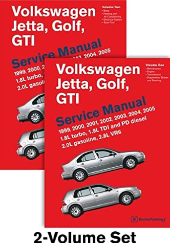 volkswagen jetta golf gti a4 service manual 1999 2000 2001 rh amazon com 2002 VW Jetta Owners Manual 1999 vw jetta owners manual pdf