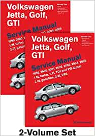 Volkswagen Jetta, Golf, GTI Service Manual 1999-2005: 1.8L Turbo, 1.9L TDI and PD Diesel 2.0L Gasoline, 2.8L VR6: Amazon.es: Bentley Publishers: Libros en ...