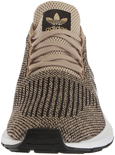Zapatillas De Running Adidas Hombres Swift Raw Gold / Core Black / White
