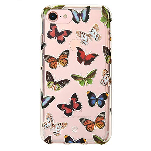 - Velvet Caviar for Cute iPhone 8 Case & iPhone 7 Case Butterfly Clear for Women Girls - Protective Phone Cases [Drop Test Certified] (Butterfly)