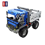 DoubleE 2 in 1 2.4G Remote Control Building Block Engine Car High Speed Vehicle