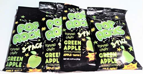 Pop Rocks Crackling Candy Green Apple-12 packets ()