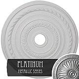 Ekena Millwork CM25COPLS Ceiling Medallion Platinum