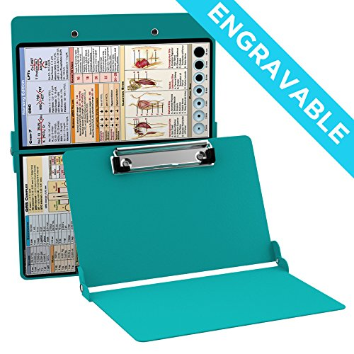 ENGRAVABLE - WhiteCoat Clipboard- Teal - Nursing Edition