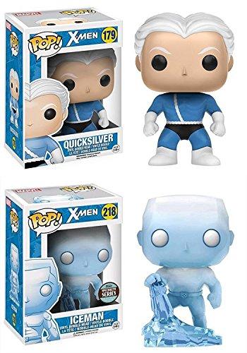 Funko POP! X-Men: Quicksilver + Iceman (Specialty Series) - Vinyl Figure NEW (X-men Iceman)