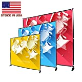 Displayfactory USA 10 Foot Step and Repeat Display Adjustable Backdrop Wall Trade Show Photography Background Banner Stand