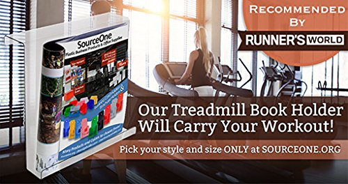 Source One LLC Extra Deep Treadmill Book Holder (TBH X)
