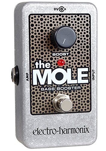 Electro-Harmonix The Mole Nano Bass Boost Guitar Effects Pedal by Electro-Harmonix
