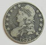1832 P Silver Bust Half Dollar 50c Very Fine