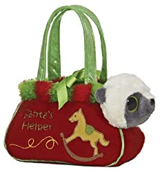 Aurora Plush Fancy Pals Yoohoo Santa Village Pet Carrier