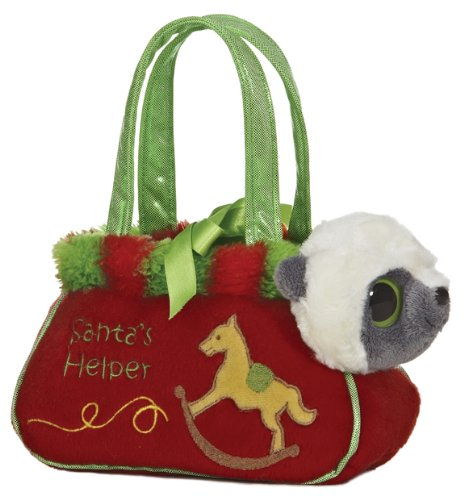 Aurora Plush Fancy Pals Yoohoo Santa Village Pet (Santas Pals)