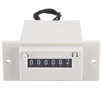 High Speed Pulse Counter Accurate Industry Electronic Counter 6 Digit for Controlling DC12V