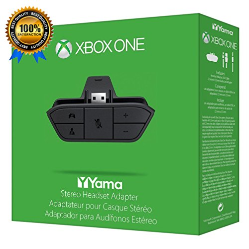 Price comparison product image Stereo Headset Headphone Audio Game Adapter For Microsoft Xbox One Controller YamaMarket