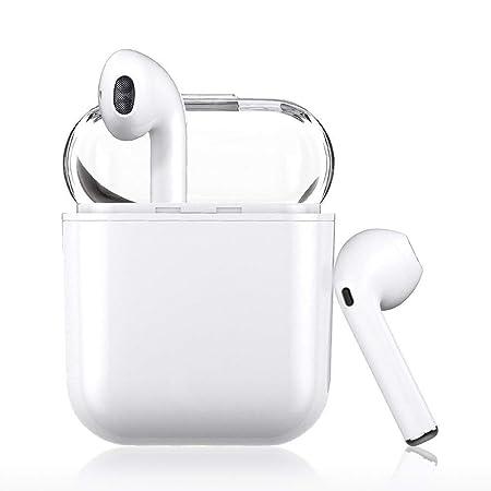 Luvfun Bluetooth Kopfhörer V5.0, In-Ear-Ohrhörer mit Tragbarer Ladekästchen,Super Stereo Bluetooth In-Ear-Kopfhörer,kompatibe