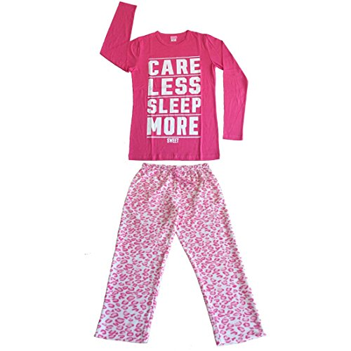 Discount Le Ange Intimates Women 2 PC Cotton Top & Fleece Lined Pants Pajamas Set supplier