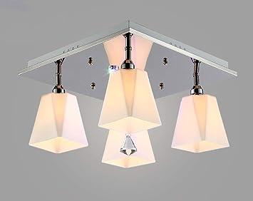 Plafoniere Moderne Per Sala : Cwj semplici luci moderne lampadari in stile europeo salotto
