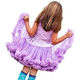 Huggalugs Girls Lilac Pettiskirt (6 to 8 years)