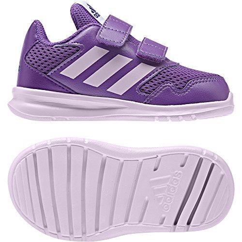 adidas Unisex Baby AltaRun CF I Sneaker, EU RAYPUR/AERPNK/REAPUR
