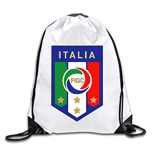 EUNICORN SG FIGC Logo Snapback Gym Sack Bag Drawstring Backpack Sport Bag - Oakley Sg
