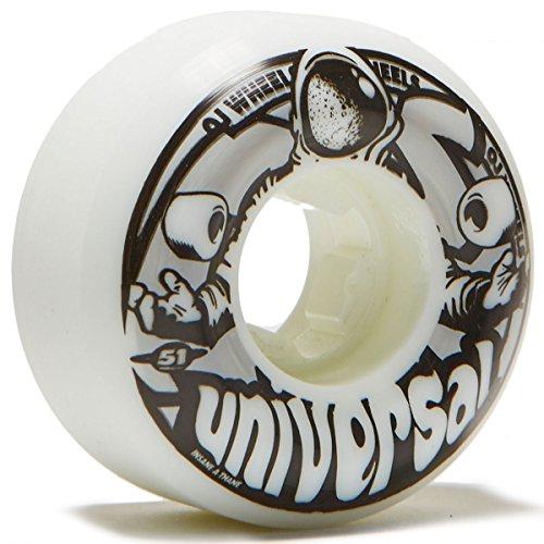 煙一族オーブンOJユニバーサルスペースUniversals 101 A Skateboard Wheels – 51 mm