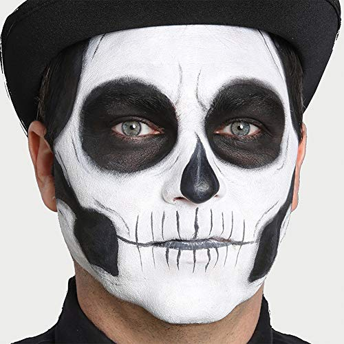 (Woochie Day of The Dead Makeup Kit - Professional Quality Halloween Costume Makeup -)