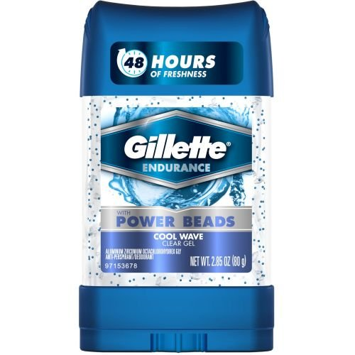 Gillette Clear Gel Power Beads Cool Wave Antiperspirant and Deodorant, 2.85 Ounce -- 12 per case. by Procter And Gamble (Image #1)