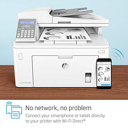 HP Laserjet Pro M148fdw All-in-One Wireless Monochrome Laser Printer with Auto Two-Sided Printing, Mobile Printing, Fax & Built-in Ethernet (4PA42A) by HP (Image #10)