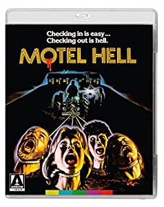 Cover Image for 'Motel Hell  (Blu-ray + DVD)'