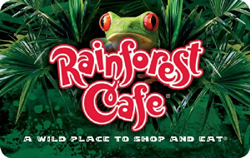 Rainforest Cafe $50 Gift Card (Cafe Gift)